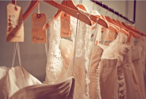 finding the wedding dress