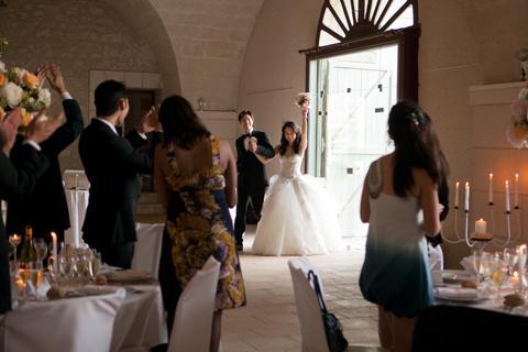 france wedding reception