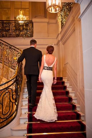 french vintage wedding dress