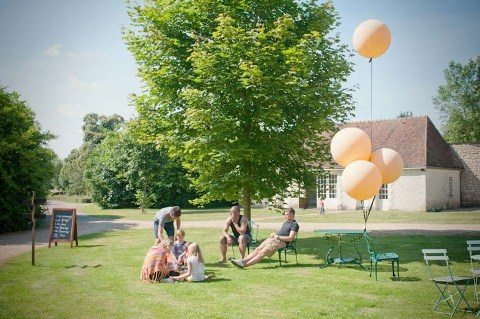 garden wedding france