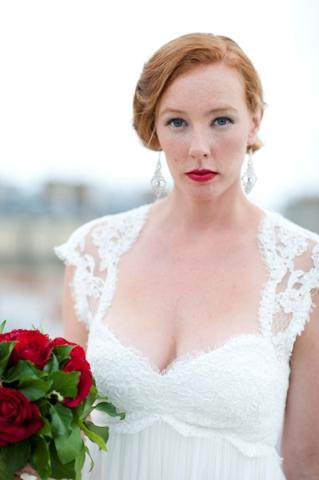glamorous bridalshoot