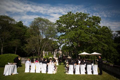 outdoor wedding loire valley