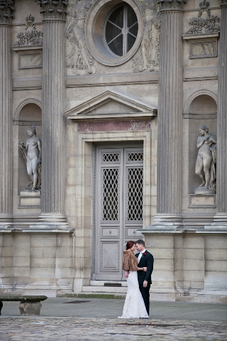 paris winter wedding