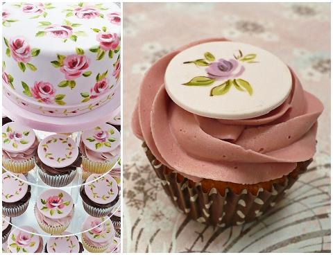 wedding cakes shabbychic