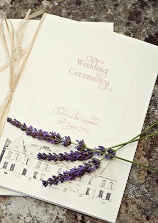 wedding stationery france