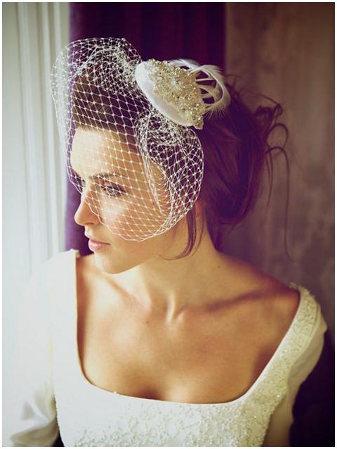 Florence vintage veil