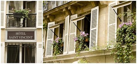 St Vincent Hotel Paris