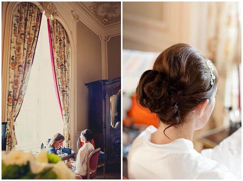 bridal hair makeup poitou charente