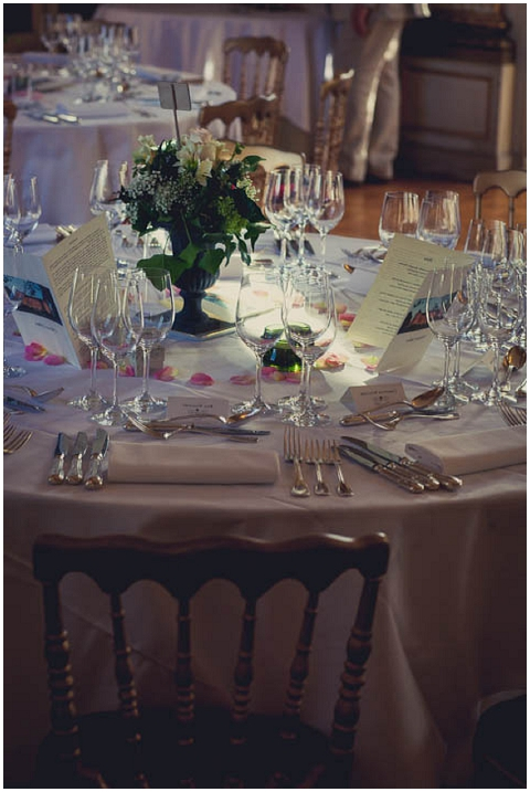 chateau wedding table