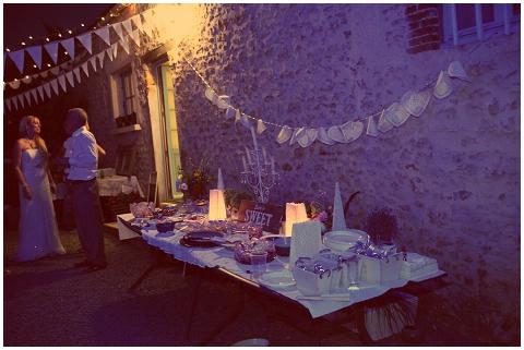 dessert table france