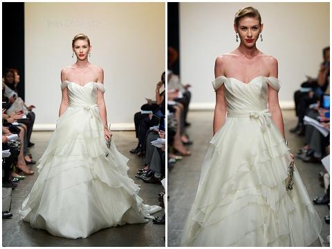 dropstrap wedding dress
