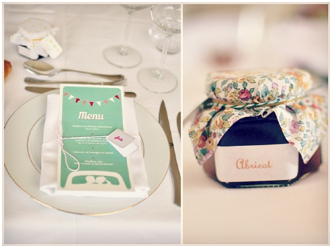 fete wedding favours