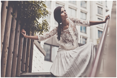 parisian wedding dress