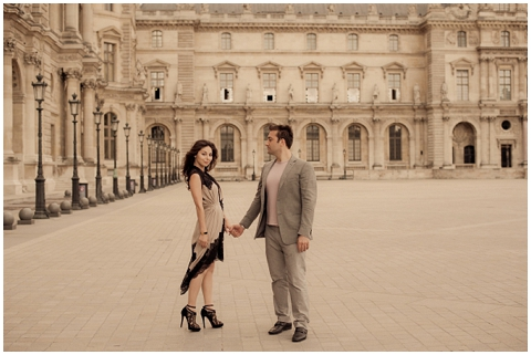 pre wedding photo paris