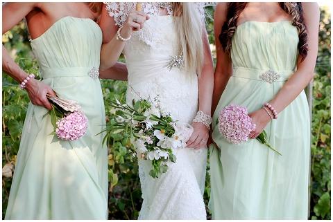 vintage bridesmaids