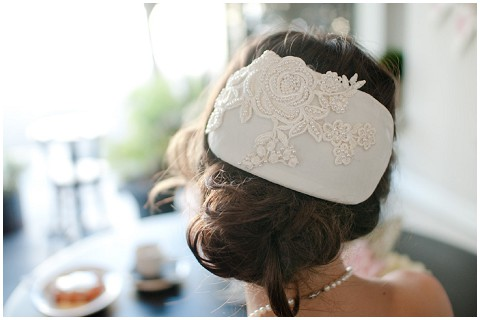 alternative bridal headpiece