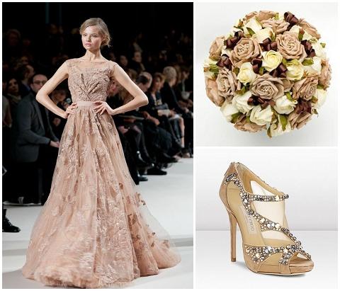 chocolate wedding inspiration
