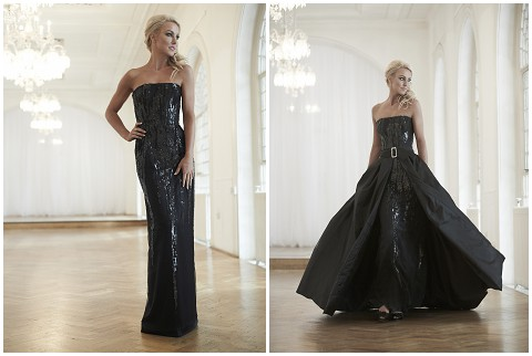 convertable evening dress buckingham