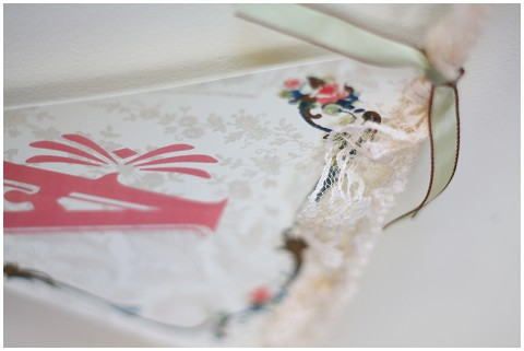 lace wedding bunting