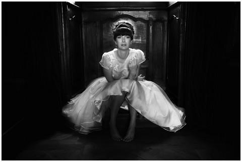 marilyn monroe inspired bride