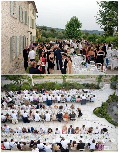 outdoor wedding venues france