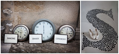 wedding clocks