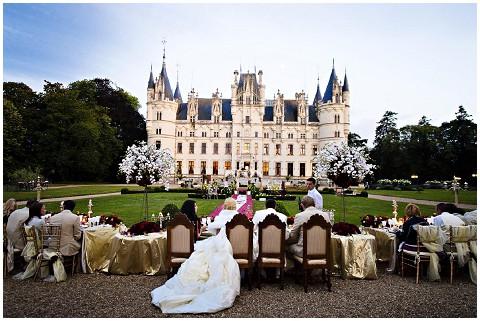 chateau challain wedding