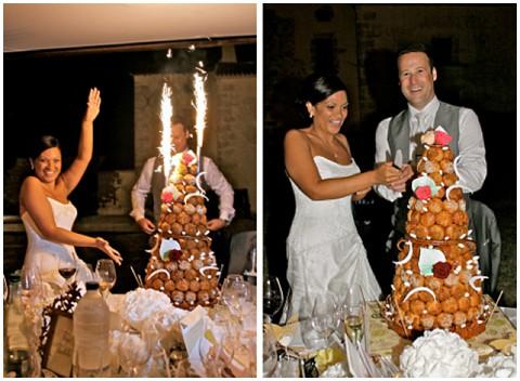 croquembouche wedding