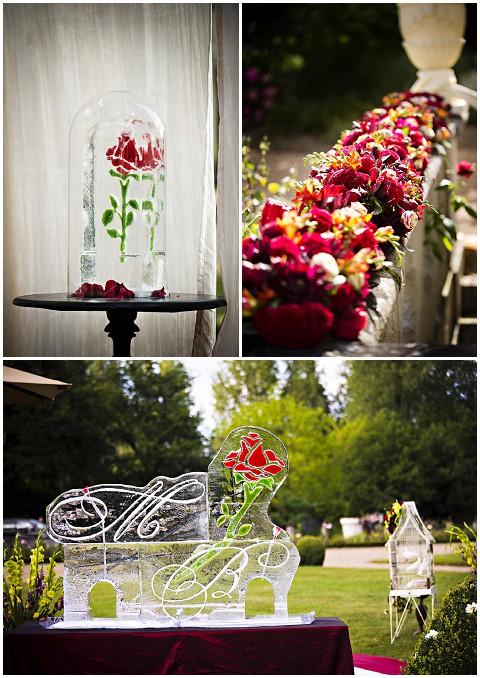 disney rose wedding