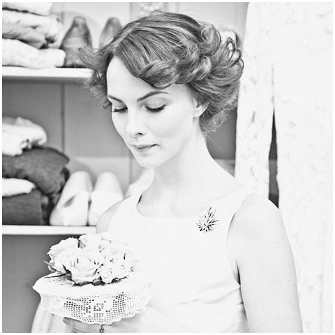 Events with love vintage bride