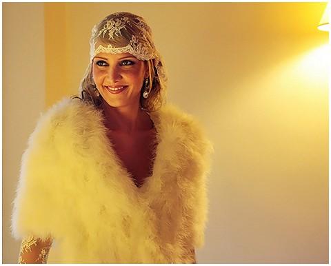 Floriane Caux vintage bride