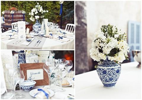 cornflower blue wedding