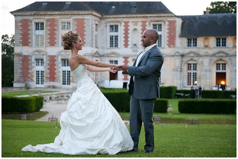 french wedding chateau