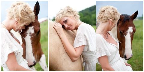jessica maida horse and bride