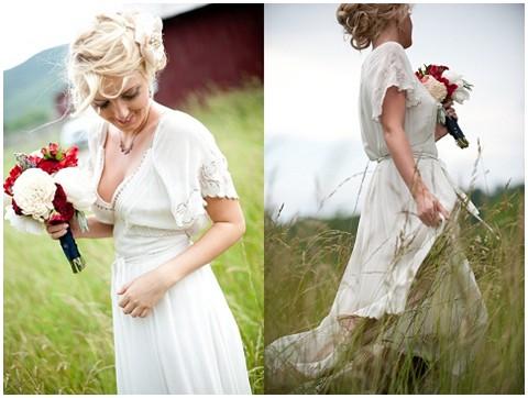 jessica maida rustic country wedding dress
