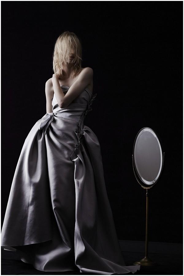 lanvin silver dress