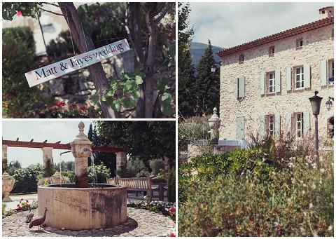 lavender and rose wedding venue provence