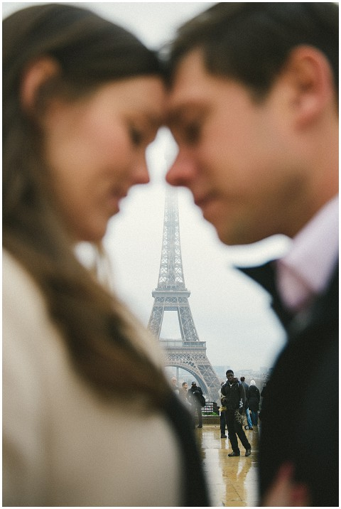 love at eiffel tower