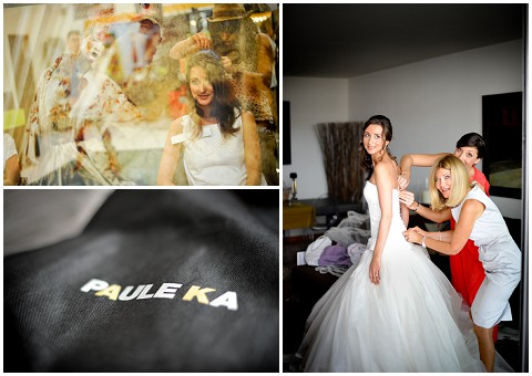 paule KA wedding dress