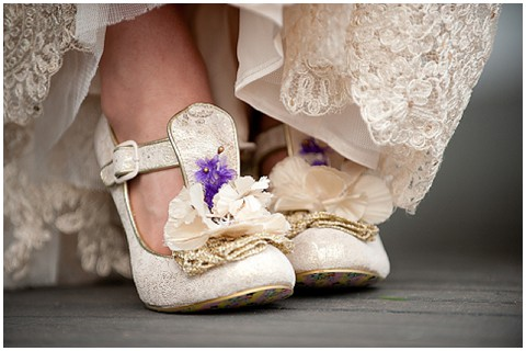 unusual wedding shoes