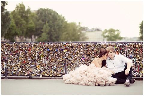 EmmPhotography love lock bridge