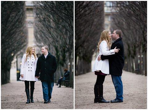 Ian Holmes Photography engagement Paris