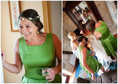 david page green bridesmaids