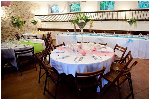 french wedding tables
