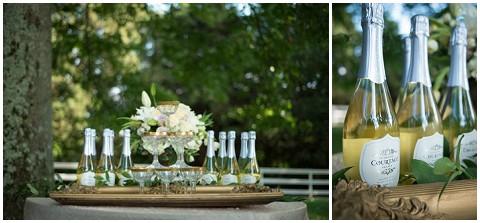 french wedding champagne