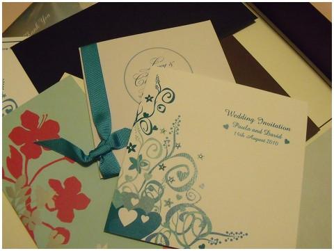 french wedding style wedding stationery