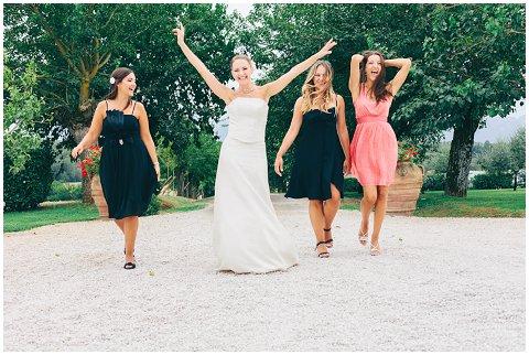italian bridesmaids