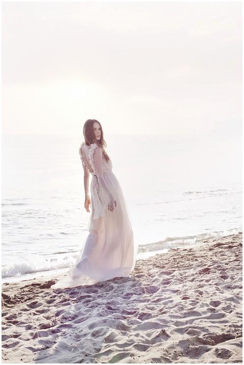 leila hafzi beach bride
