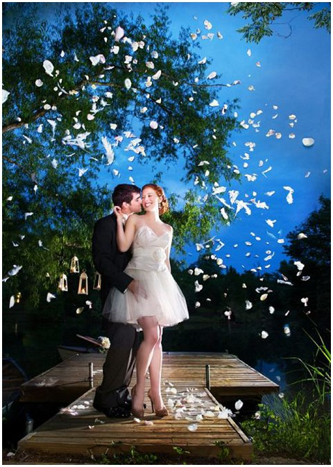 wedding streamers