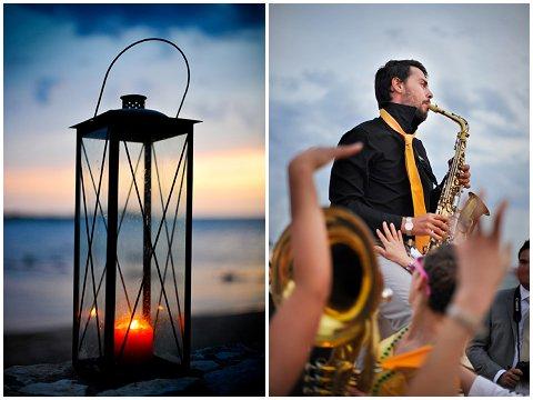 beach wedding corsica